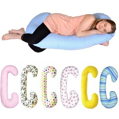 Maternity/pregnancy/nursing support body pillow, cushion