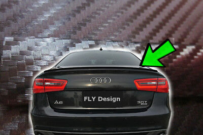 Audi A6 C5 s6 rs6 tuning carbon karbon spoiler heckspoiler hecklippe kofferraum