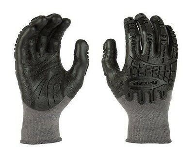 Mad Grip F50 Thunderdome Impact Gloves, Grey/Black, X-Large