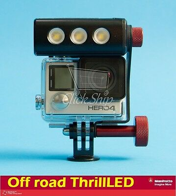 Manfrotto Off road ThrillLED Light & Bracket for GoPro Mfr # MLOFFROAD