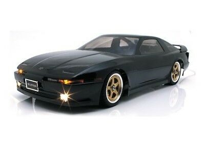 ABC Unpainted 1/10 Toyota Supra MA70 190mm On Road Clear Body Shell #66096 OZ RC