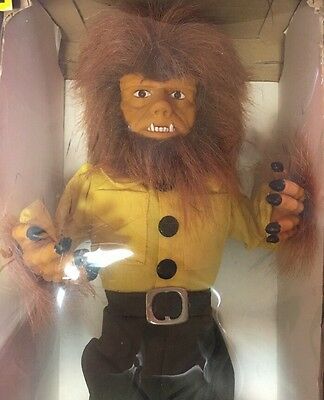 Wolfman, Halloween, Vintage 1990's, Universal Monsters, Battery-Operated,
