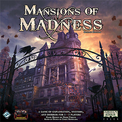 Mansions of Madness 2nd Edition - Fantasy Flight Games - New Board Game