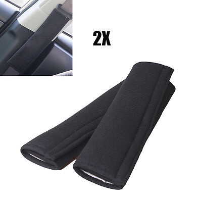 2Pcs Car Safety Seat Belt Shoulder Pads Cover Cushion Harness Pad Protector