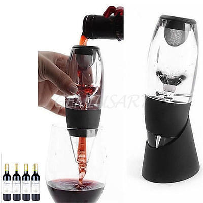 Quick &Magic Decanter Red Wine Filter Portable Essential Aerator Set Xmas Gift