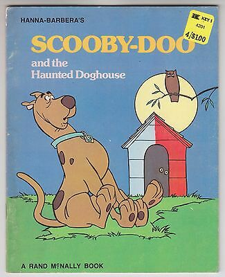 Hanna Barbera SCOOBY DOO and the Haunted Doghouse 1975 Rand McNally Jean Lewis