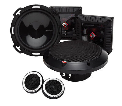 """Rockford Fosgate T16-S 6"""" Power Series Component System"""