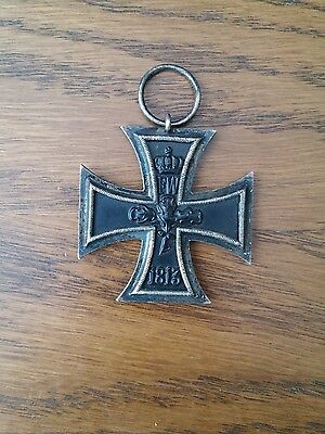 Germany Ww1 1914 Medal Iron Cross Original