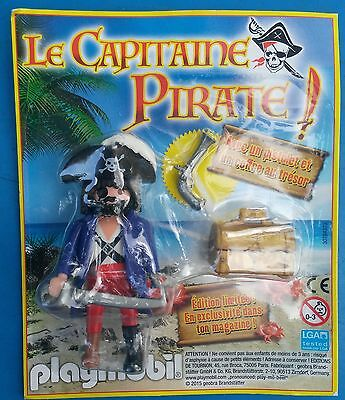 PLAYMOBIL PLAYMO NEUF sous blister modele magazine publicitaire   LE PIRATE
