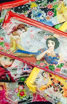 Wholesale Job Lot 48 X Children's Pencil Cases Ben 10 Snow White Frozen Barbie
