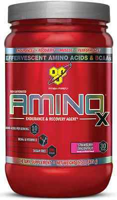 Bsn Amino X - Amino Acids - Bcaa - Muscle Recovery - Protein Synthesis - 435G