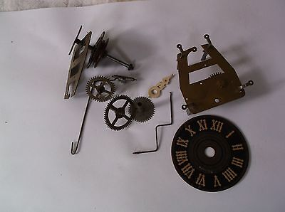 Small Cuckoo Clock Cogs And Parts