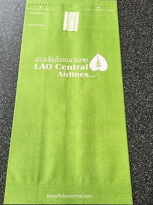 Sicknessbag Lao Central Airlines