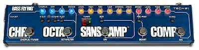 Tech 21 SansAmp Bass Fly Rig Multi-effects Bass Pedal DI compressor octaver tune