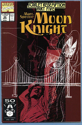 Marc Spector Moon Knight #30 1991 Marvel Comics Garney