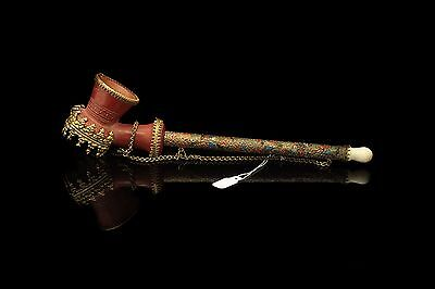 Antique Original Amazing Ottoman Islamic Tophane Pipe