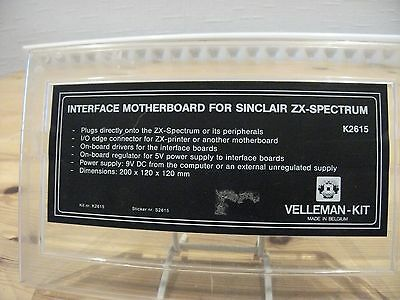 Interface Motherboard For Sinclair Zx-Spectrum New