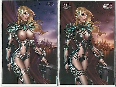 Grimm Fairy Tales Robyn Hood 15 1/100 NYCC NAUGHTY & NICE Cosplay Exclusive RARE