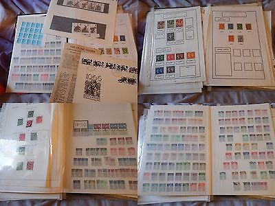 GB Stamp album - 100s stamps George V, to Elizabeth 11 see scans some High value