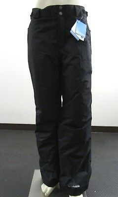 Mens S-M-L-XL-XXL Columbia Arctic Trip Insulated Waterproof Snow Ski Pants Black