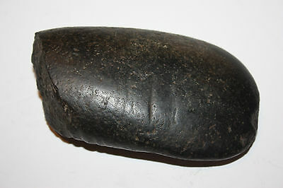 Large Mayan Black Jade Celt Axe Head Cental America