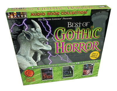 Best of Gothic Horror Collection - 3 Unabridged Books on 10 Audio Cassette Tapes