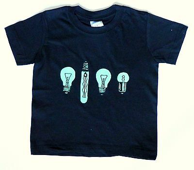 50+ Children's T-Shirts, Wholesale, Light Bulb Print.  Sizes from 5-6 to 12-13