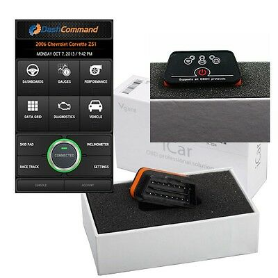 Boitier Diagnostic auto ELM327 bluetooth OBDII Vgate Android