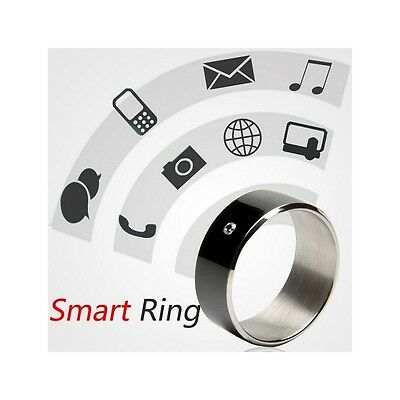 Bague Magique NFC Smartphone Android blanc 55mm