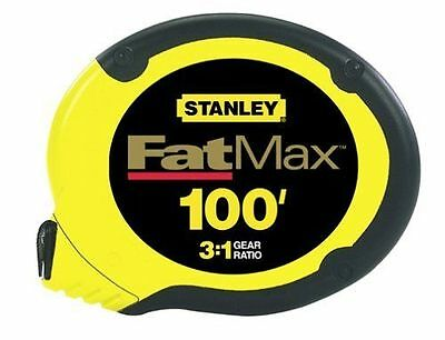 Stanley 34-130 100-Foot FatMax Long Tape Rule New sealed