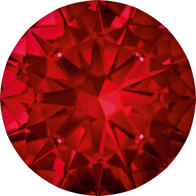 Parcel Natural Extra Fine Rich Red Ruby Melee - Round - Extra Fine Grade
