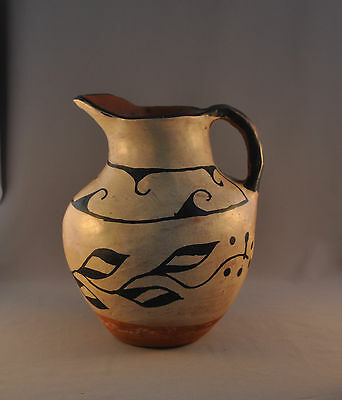 "Large Old Santo Domingo Pot - Pitcher - 10"" High"