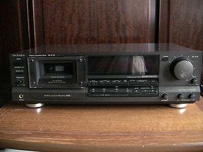 Technics RS-B755 cassette deck in good condition & functionally perfect.