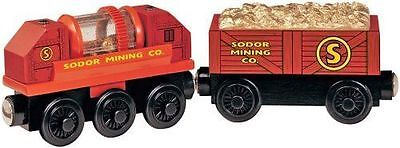 Thomas The Tank & Friends - Wooden Prospector's Gold Car Sifting **2003**new**