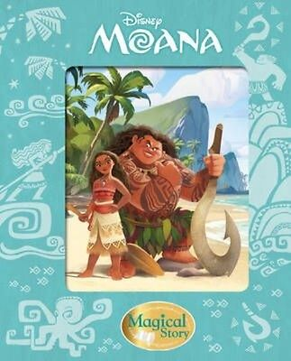 Disney Moana Magical Story by Hardcover Book
