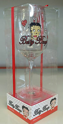 Betty Boop Large Wine Glass