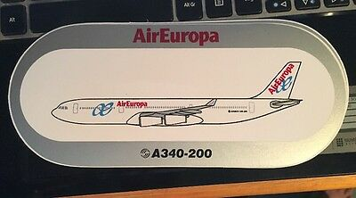 Airbus Sticker AirEuropa A340-200