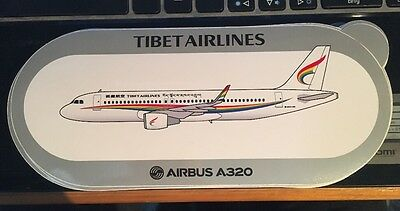 New Airbus Sticker TIBET AIRLINES  AIRBUS A320