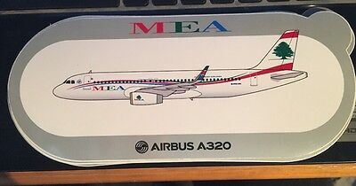 New Airbus Sticker MEA AIRBUS A320, sharklets