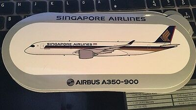 New Airbus Sticker Singapore Airlines A350-900