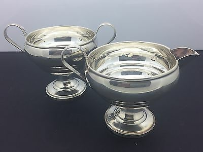 American Made FISHER Sterling Silver Sugar and Creamer
