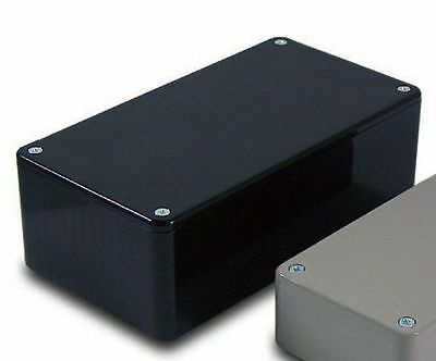 Camdenboss Bim2004/14-Blk/blk Pcb Box Enclosure Abs Black