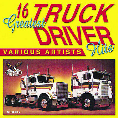Various Artists - 16 Greatest Truck Driving Hits / Various [New CD]