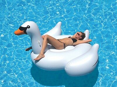 Giant Swan Inflatable Pool Toy- Buy NOW! Australian Seller- FREE Shipping