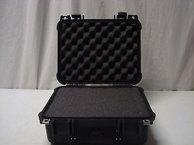 Pelican 1400 Case with Foam in Black