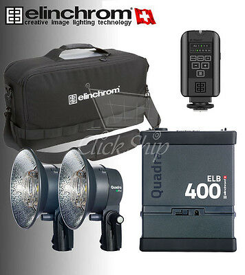 Elinchrom ELB 400 Dual Pro To Go 2016 set & Skyport Plus & ProTec bag EL10420.1
