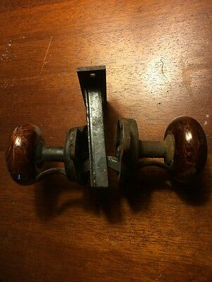 Rare Gilbert pat 1876 lever door knob set bennington knobs