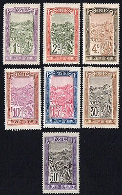 Madagascar stamps. 1922 Local Motives. MH