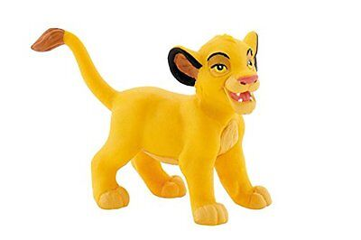 Bullyland Lion King Young Simba Hand Painted Figurine Cake Topper Toy Disney New