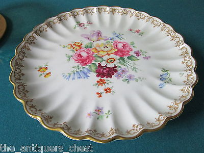 Crown Staffordshire cake stand England's Bouquets[*4stand]